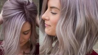 Beautiful pastel lob haircut long bob hairstyles 2.jpg