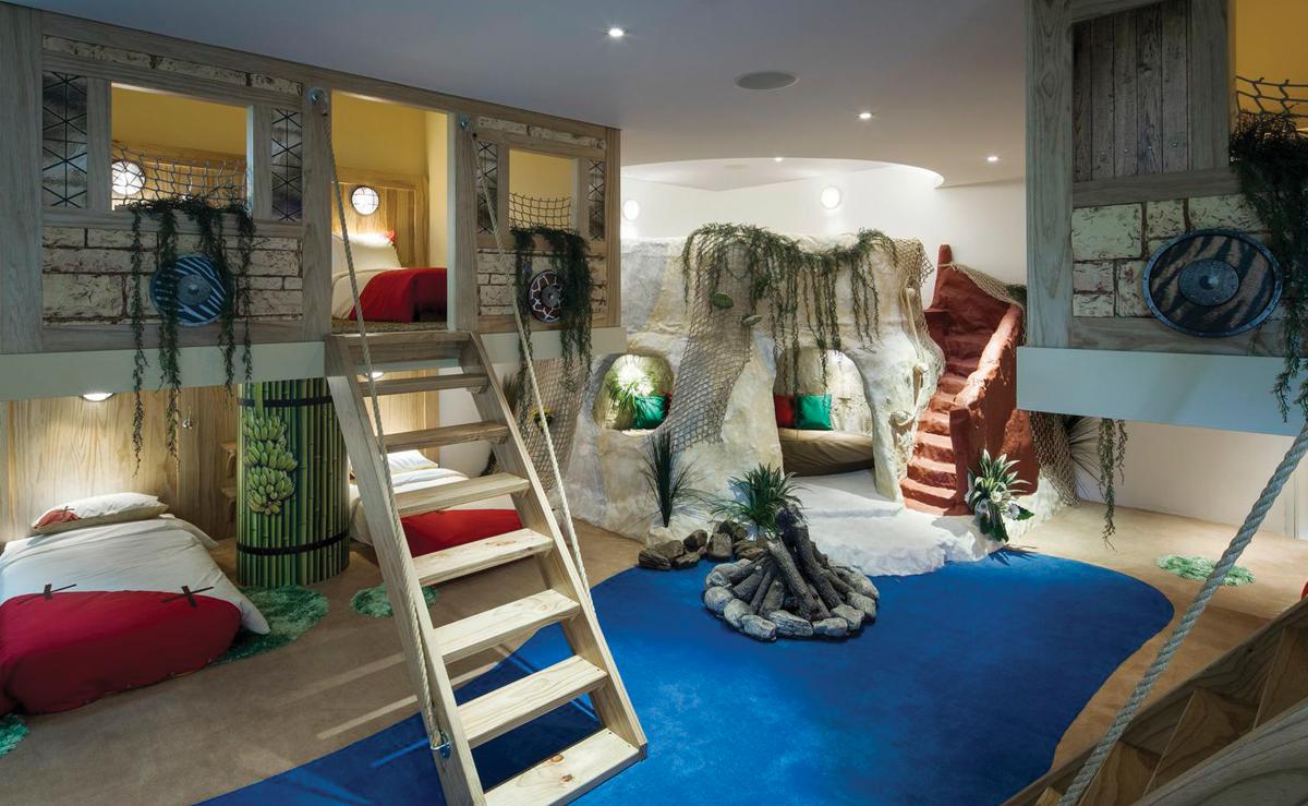 kinderzimmer kreativ gestalten. Black Bedroom Furniture Sets. Home Design Ideas