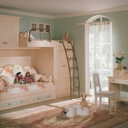 kinderzimmer f r 2 einrichten. Black Bedroom Furniture Sets. Home Design Ideas