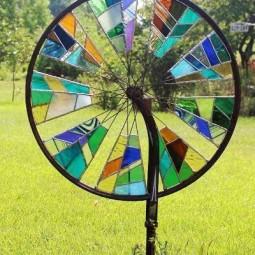 Stained glass garden spinner.jpg