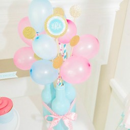 05 blue bottles with blue and pink balloons on straws.jpg