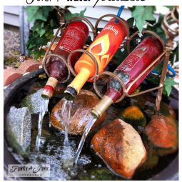 17 awesome handmade outdoor fountains.png