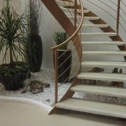 s e mini g rten unter den treppen gestalten. Black Bedroom Furniture Sets. Home Design Ideas