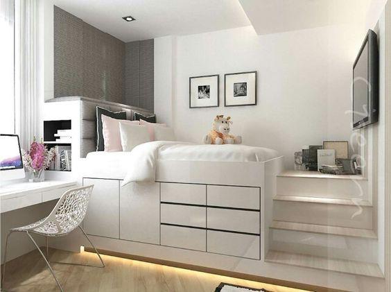 Platzsparende einrichtungsideen - Teenage beds for small rooms ...