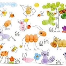 Wow Fingerabdruck Malerei Fur Kinder Nettetipps De