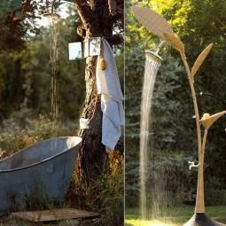 Ai irresistible outdoor shower designs for your garden 8.jpg