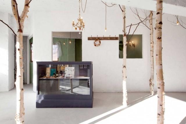 Hervorragend Baum Haus Interior Dekoration Beauty Salon Einrichtung Design Onico Ryo  Isobe 1