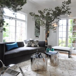 Baum haus interior dekoration wohnzimmer nadelbaum beleuchtung kuenstlich.jpg