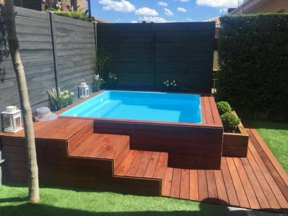 Mini Pools Für Einen Kleinen Garten