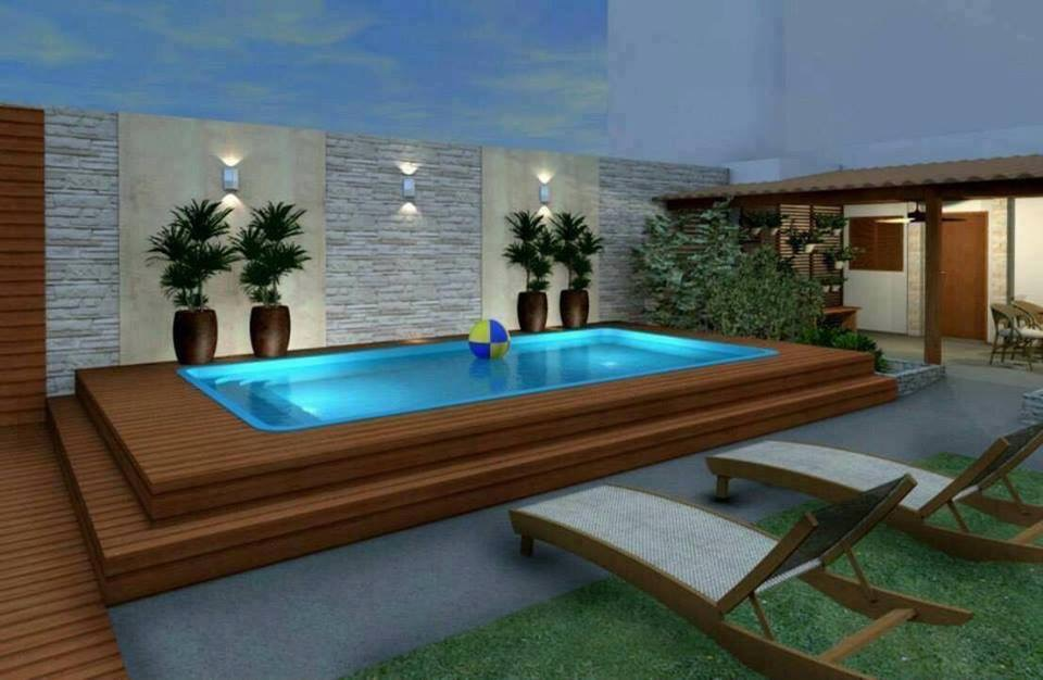 mini pools f r einen kleinen garten. Black Bedroom Furniture Sets. Home Design Ideas