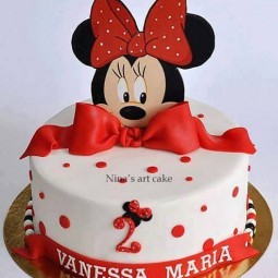 Susse Minnie Mouse Torten Nettetipps De