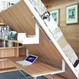 geniale platzsparende betten. Black Bedroom Furniture Sets. Home Design Ideas
