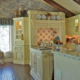 Soft pale colors for a french country kitchen.jpg