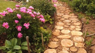 Stones wood yard landscaping garden paths 1.jpg