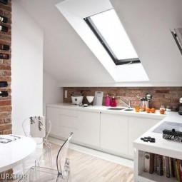 Uberlegen Dachgeschoss Küche