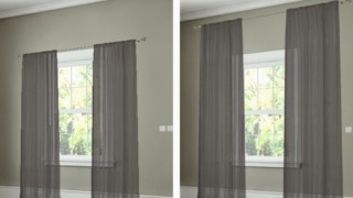 12. how to hang your curtains to give the illusion of larger windows. 27 easy remodeling projects that will completely transform your home.png.jpg