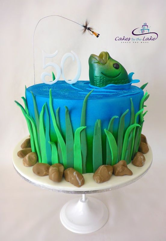 Birthday Cake Ideas For Fishermen