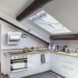 Dachgeschoss Küche | 21 Tolle Kuchen Im Dachgeschoss Nettetipps De