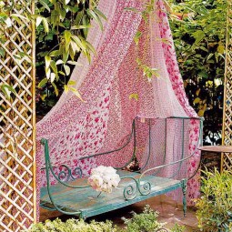 34 colorful bohemian garden designs to embrace 1.jpg