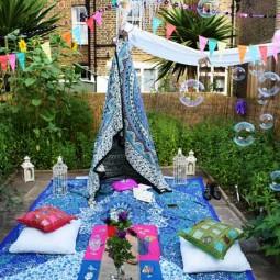 34 colorful bohemian garden designs to embrace 4.jpg