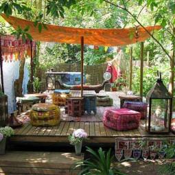 34 colorful bohemian garden designs to embrace 6.jpg