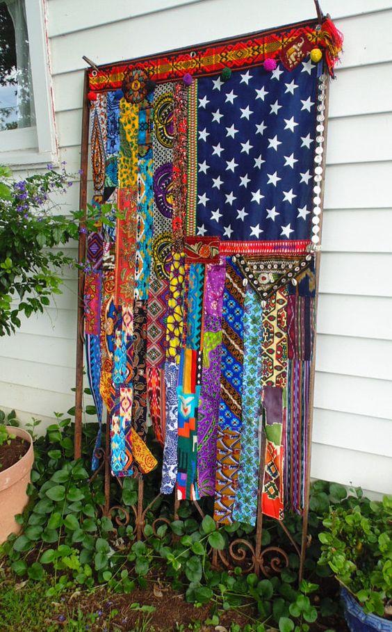 Bunte Vorhange Im Coolen Hippie Stil Nettetipps De