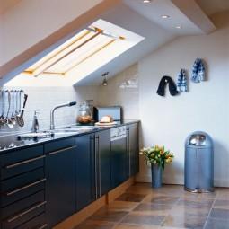 Schon Dachgeschoss Küche
