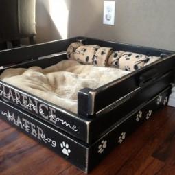 A9162ff337ffcc3b486b361c1e3682d9 homemade dog beds diy dog bed.jpg