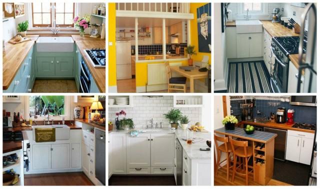 Praktische Einrichtung-Ideen für kleine Küche - nettetipps.de