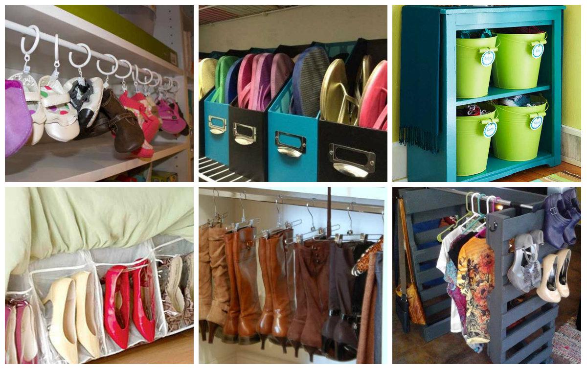 schuhe platzsparend organisieren. Black Bedroom Furniture Sets. Home Design Ideas