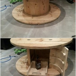 Pallet and cable reel round table with storage.jpg