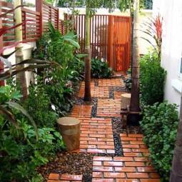 25 lovely diy garden pathway ideas 03.jpg