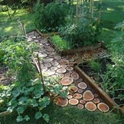 25 lovely diy garden pathway ideas 06.jpg