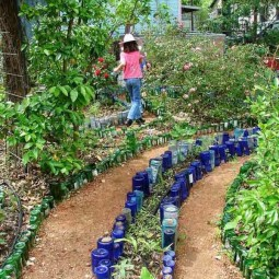 41 ingenious and beautiful diy garden path ideas to real.jpg