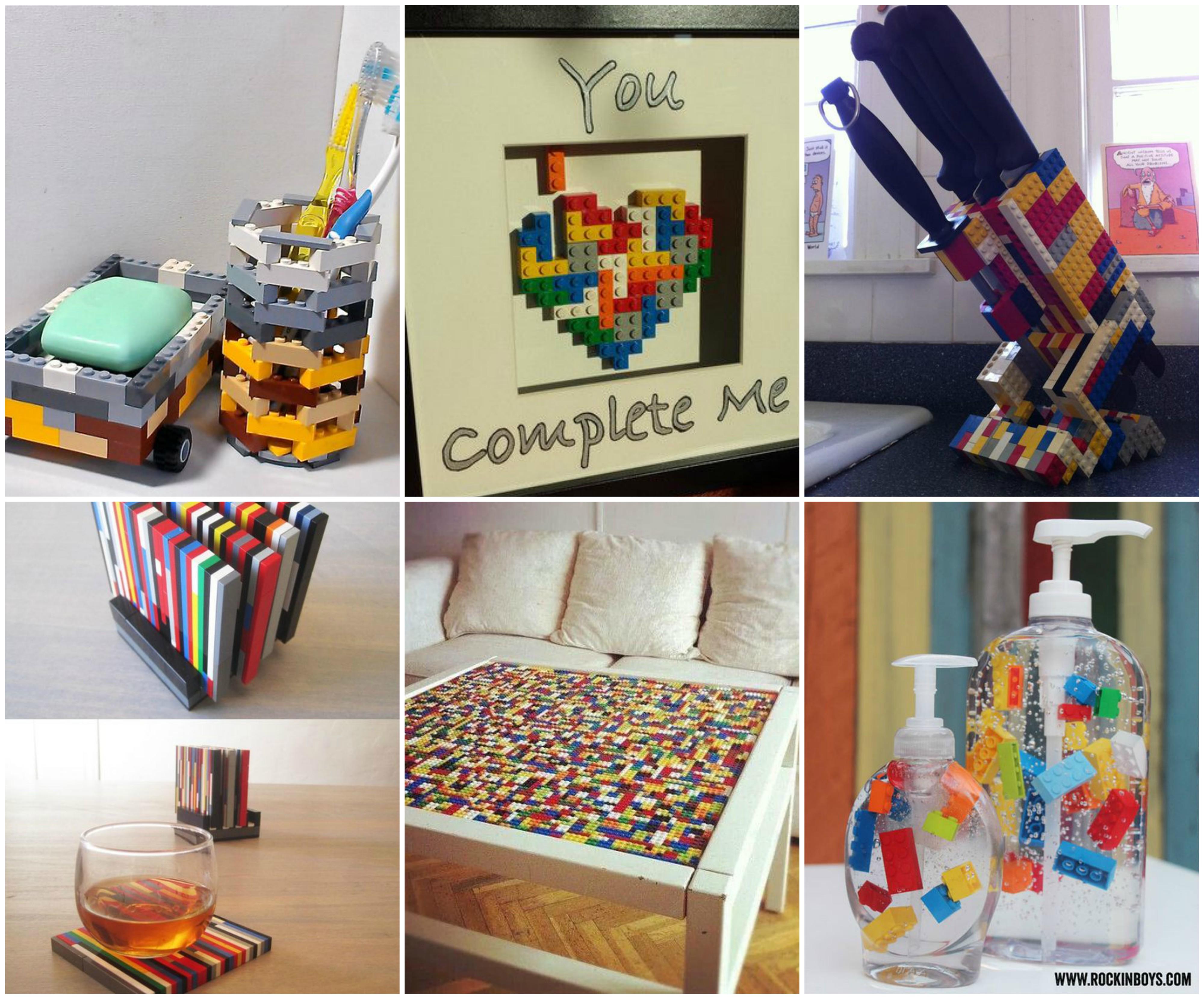 20 tolle lego bastelideen. Black Bedroom Furniture Sets. Home Design Ideas