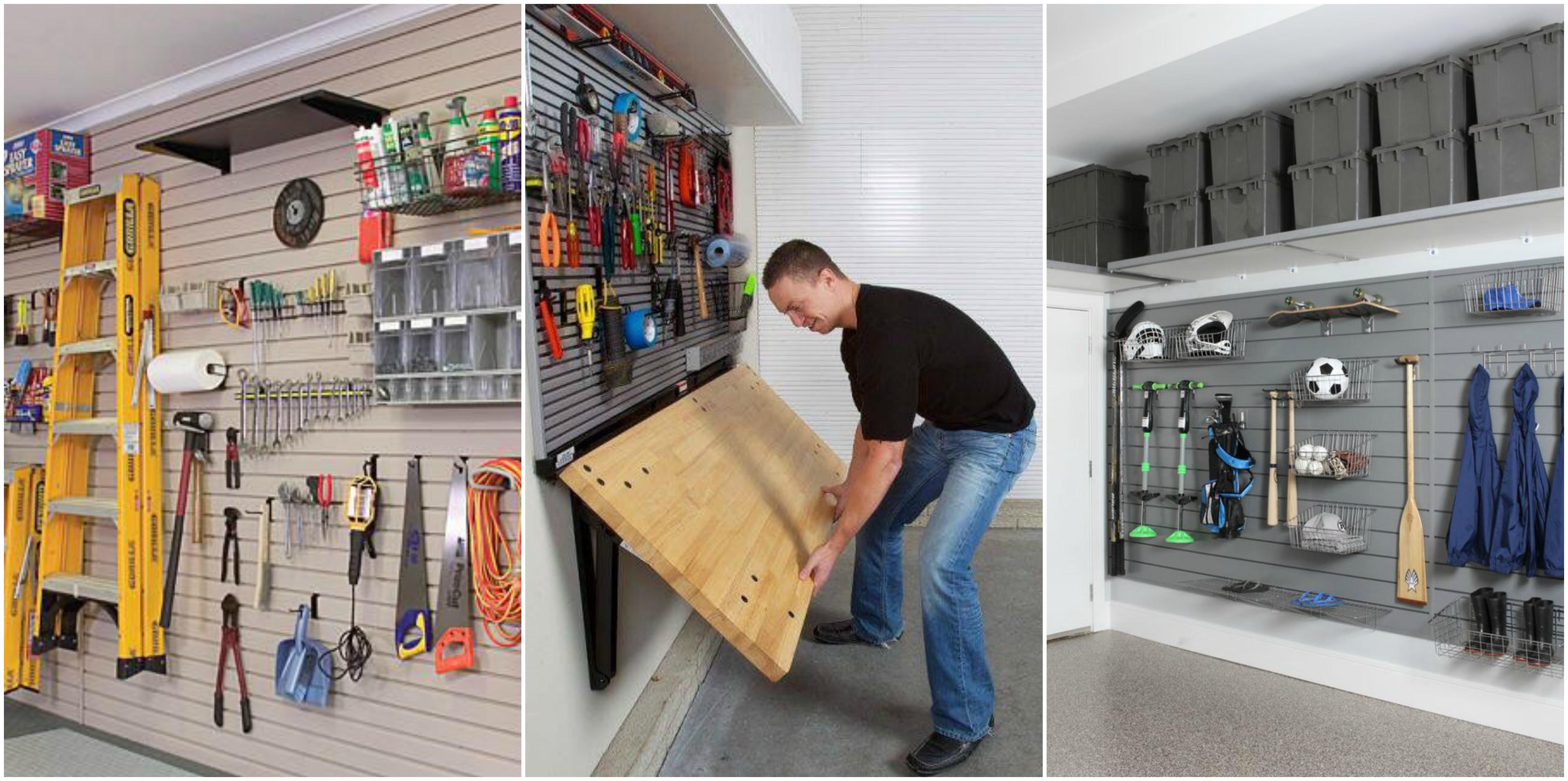 Relativ 15 platzsparende Ideen für eure Garage :) - nettetipps.de CJ25