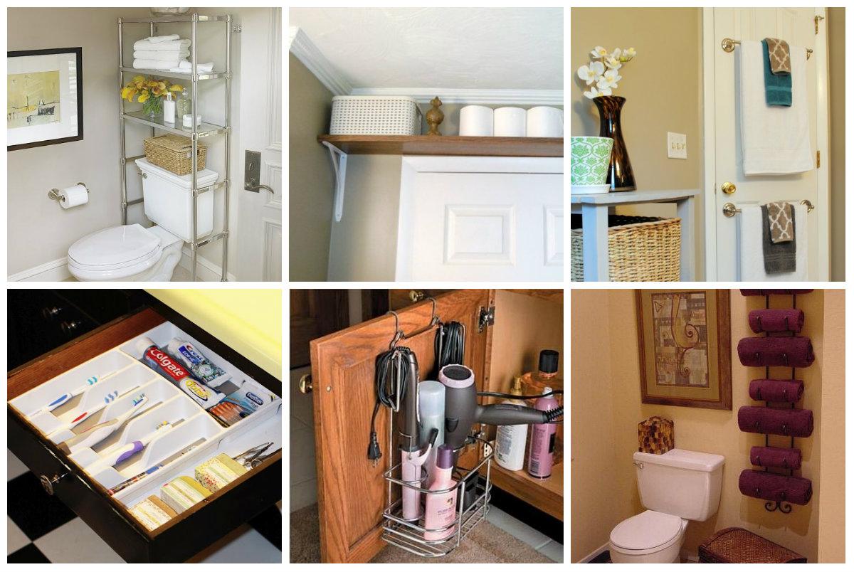 20 praktische diy organisation ideen f r kleines for Badezimmer ideen diy