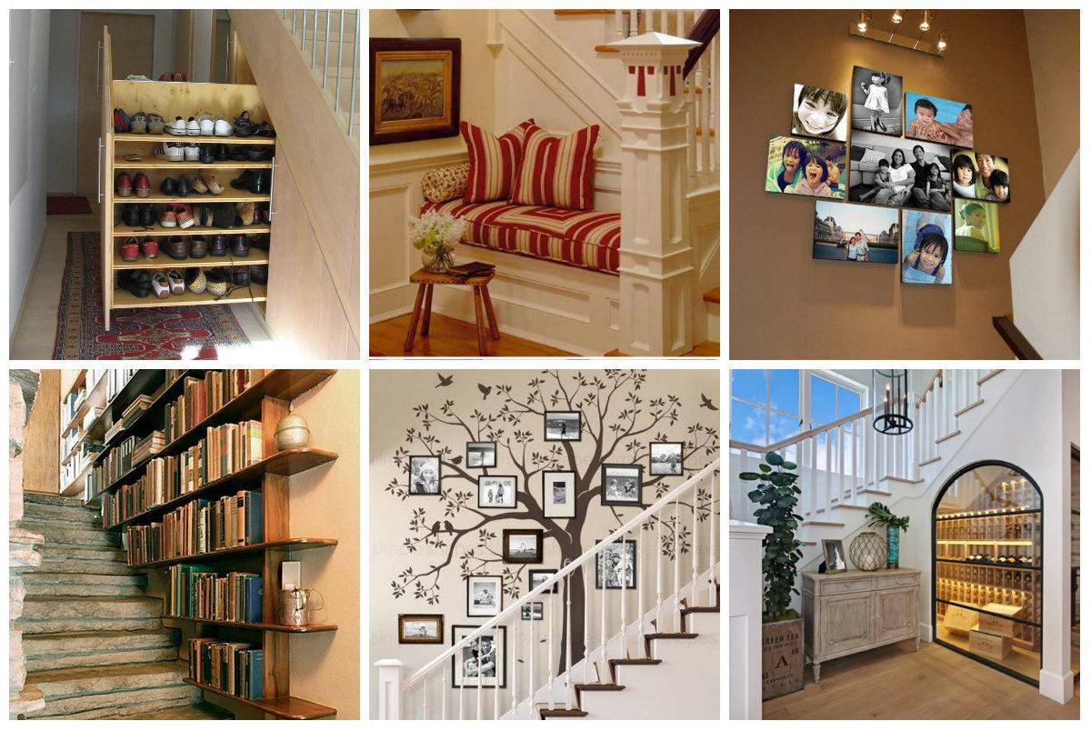 Treppen bereich dekorieren und praktisch gestalten for Wohnung dekorieren app