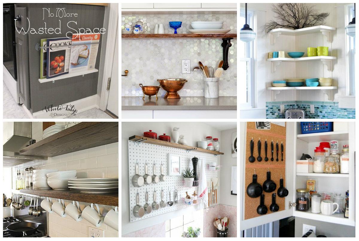 clevere und einfache organisation ideen f r jede k che. Black Bedroom Furniture Sets. Home Design Ideas