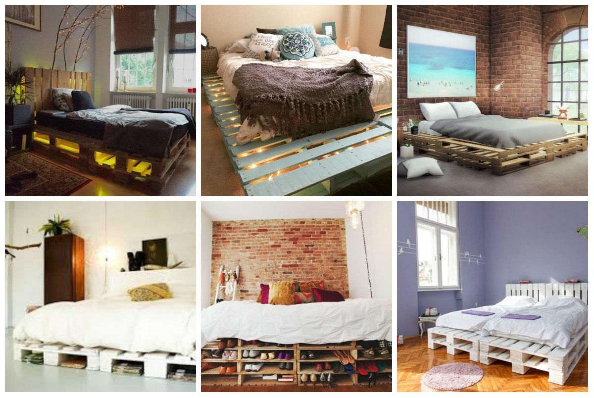 17 tolle tipps f r diy betten aus paletten. Black Bedroom Furniture Sets. Home Design Ideas