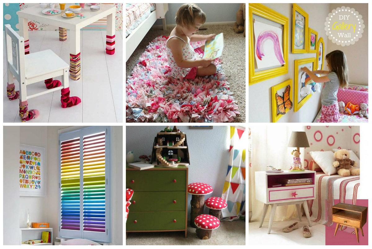 16 nette tipps f r kinderzimmer dekoration. Black Bedroom Furniture Sets. Home Design Ideas
