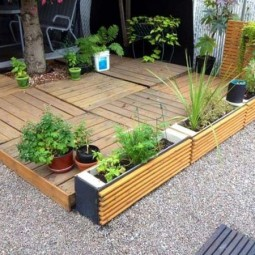 Decorate outdoor space with wooden tiles 10.jpg