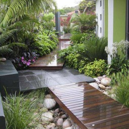 Decorate outdoor space with wooden tiles 11.jpg