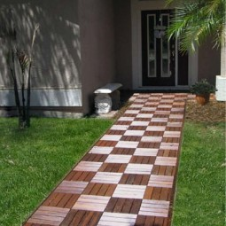 Decorate outdoor space with wooden tiles 4.jpg