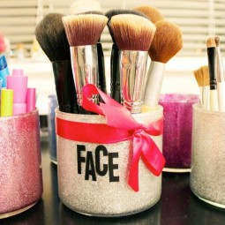 Diy makeup organizer with catchy look best brush_diy containers to organize make up_home dec.jpg