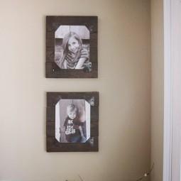 Diy rustic pallet frames 10.jpg