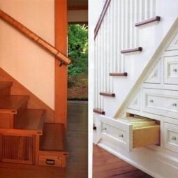 treppen bereich dekorieren und praktisch gestalten. Black Bedroom Furniture Sets. Home Design Ideas