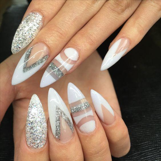 Versace Nail Design