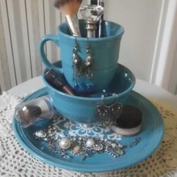 Makeup holder with dinnerware.jpg
