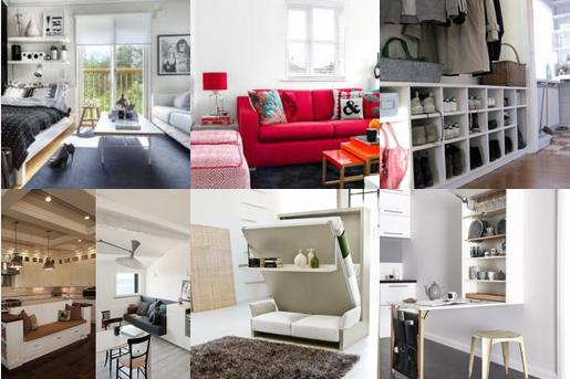 11 platzsparende ideen f r eine kleine wohnung. Black Bedroom Furniture Sets. Home Design Ideas